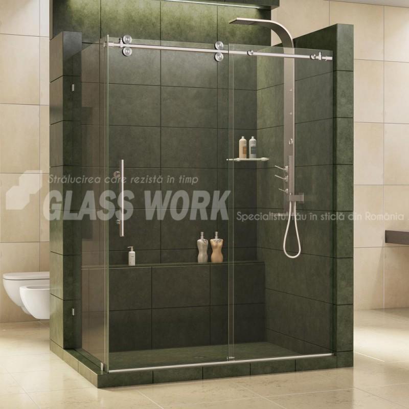 Cabine şi paravane de duş din sticlă securizată